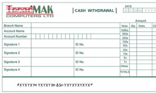 Cash deposit