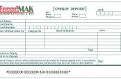Cheque deposit
